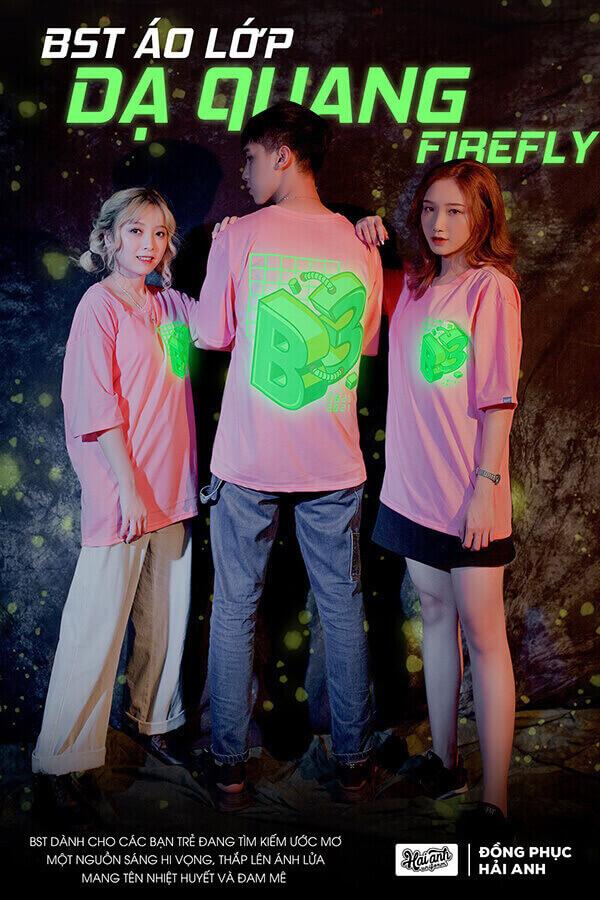 BST áo lớp dạ quang Firefly ra mắt đầu năm 2021